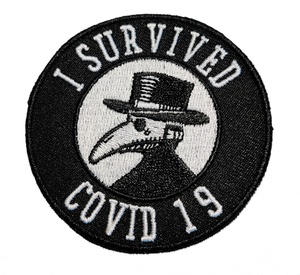 View I Survived Covid -19 Patch